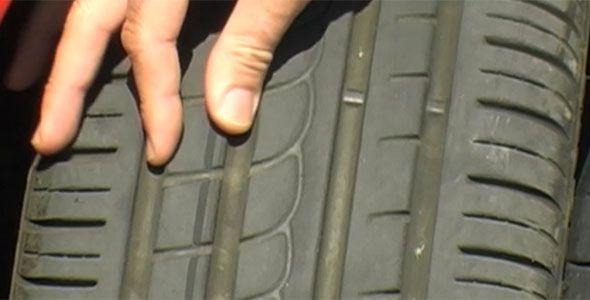 Neumático de segunda mano
