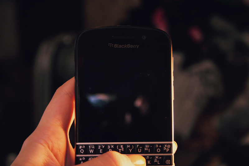 Blackberry ya no fabrica móviles