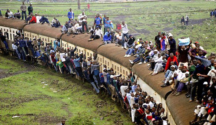 TOPSHOTS-KENYA-TRANSPORT-STRIKE-TRAIN