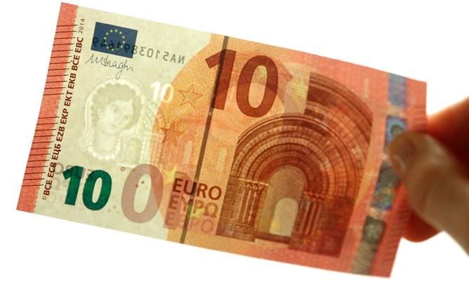 billete 10 euros