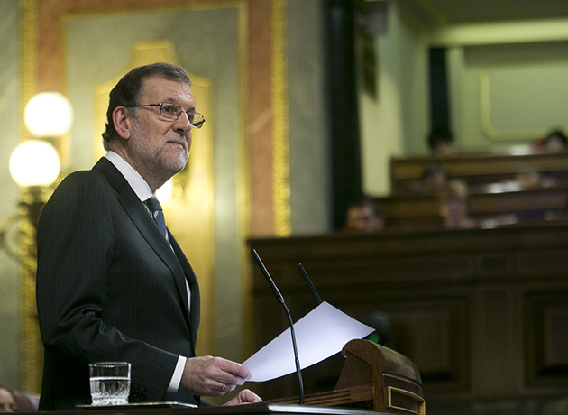Investidura y nuevo gobierno de Mariano Rajoy