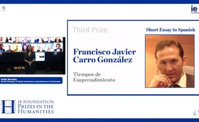 Francisco Javier Carro galardonado en los Premios Humanidades 2020