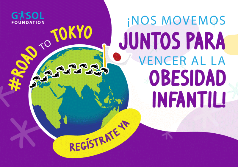 Gasol Foundation organiza la carrera virtual Road to Tokyo para combatir la obesidad infantil