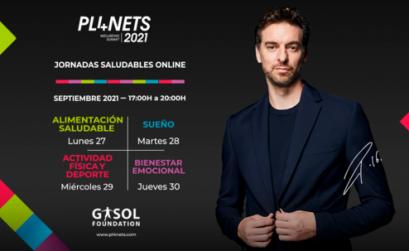 Gasol Foundation presenta las jornadas saludables online PL4NETS